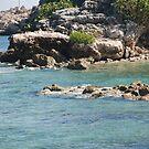 Water Rocks by ELIZABETH B