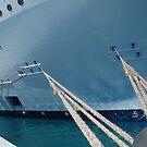 Ship at Port by ELIZABETH B