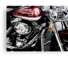 red harley too Canvas Print