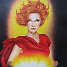 Flame by lanadi