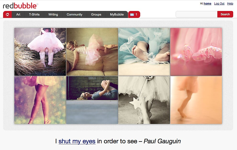 Beautiful Ballerina's - 22 September 2010 by The RedBubble Homepage