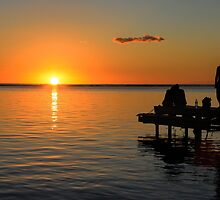 Sunset in Mauritius by ibphotos
