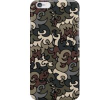 Military pattern iPhone Case/Skin