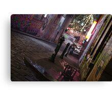 Urban jungle Canvas Print