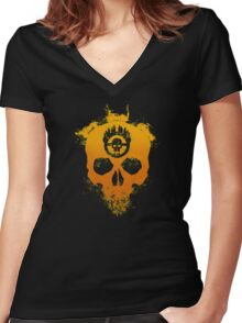 Road Warriors Women's Fitted V-Neck T-Shirt
