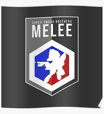 Smash Melee - Fox Poster