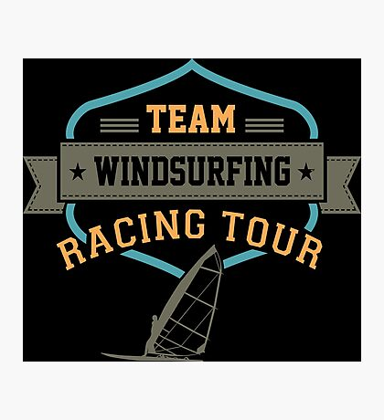 Team Windsurfing Racing Tour Photographic Print