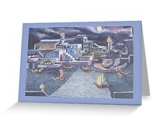 Arabian Nights 2 Greeting Card