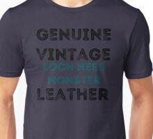 Loch Ness Leather Unisex T-Shirt