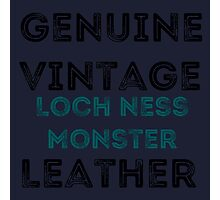 Loch Ness Leather Photographic Print