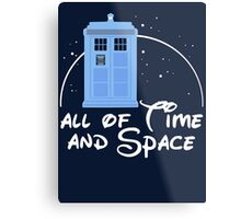 All of time and space Metal Print