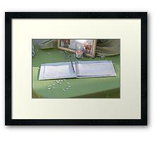 Guest Book Framed Print