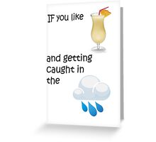 Escape Greeting Card