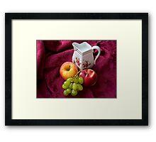 Breakfast Fare Framed Print