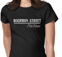 Bourbon Street New Orleans Womens Fitted T-Shirt
