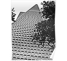 Urban Living in San Francisco - TransAmerica Pyramid Poster