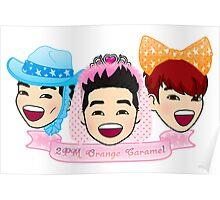 2PM Orange Caramel Poster