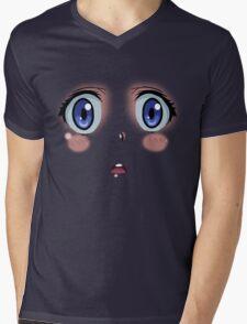 Anime Turmoil! Mens V-Neck T-Shirt