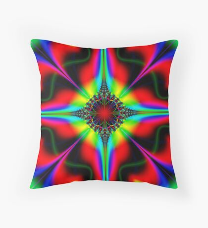 Colorful Topper  Throw Pillow