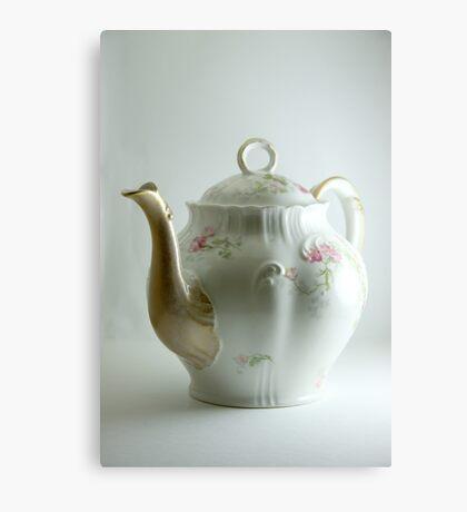 Matching Teapot Canvas Print