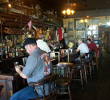 "Inside ""Under the Hill"" Saloon by Dan McKenzie"