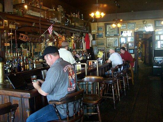 """Inside """"Under the Hill"""" Saloon by Dan McKenzie"""