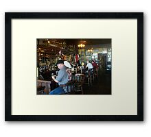 "Inside ""Under the Hill"" Saloon Framed Print"