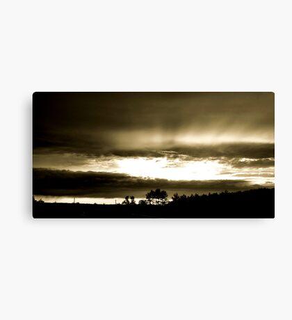 God's Reach Canvas Print