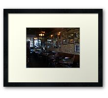 Inside Under the Hill Saloon 2 - right side Framed Print