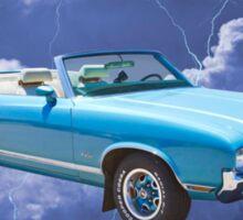 Oldsmobile Cutlass Supreme Muscle Car Sticker