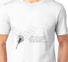 Weeds - Ralph Waldo Emerson Unisex T-Shirt