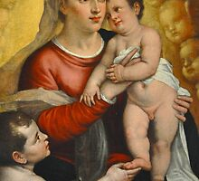 MOTHER AND CHILD CARD by Thomas Barker-Detwiler