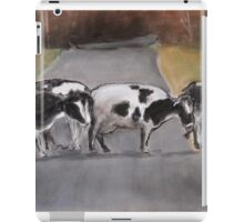 ©study of cows iPad Case/Skin