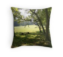 Spirits of the Ancestors - Grand Village of the Natchez Indians Throw Pillow