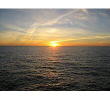 Nautical Sunset - Pt. Stanvac, South Australia Photographic Print