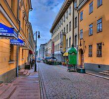 Helsinki Finland City Scene by robert cabrera