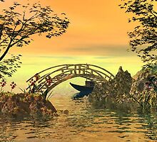 Tranquil Sunset by plunder
