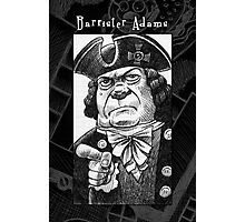 Barrister Adams Photographic Print