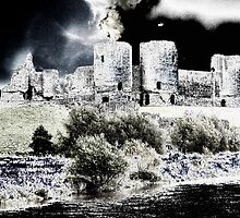 Rhuddlan Castle by Mike Atherford