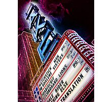 lake theater, oak park, IL Photographic Print