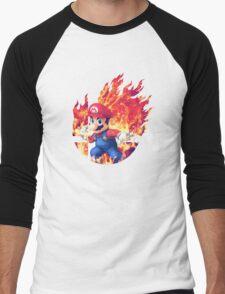 Smash Hype - Mario Men's Baseball ¾ T-Shirt