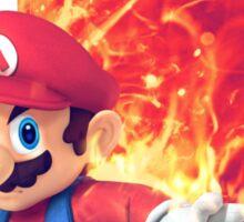 Smash Hype - Mario Sticker