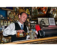 Happy Hour at the Last Chance Saloon Photographic Print