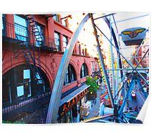 San Gennaro Feast - Ferris Wheel NYC Poster