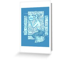 Sea Gaia Sighs Greeting Card