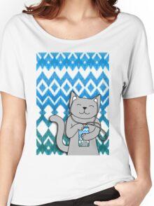 iKat iCat Women's Relaxed Fit T-Shirt