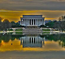 Lincoln Memorial, Washington D.C. by Judson Joyce