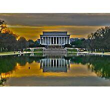 Lincoln Memorial, Washington D.C. Photographic Print