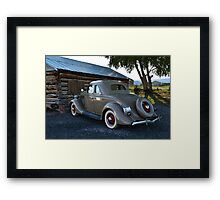 1935 Ford Coupe Automobile Framed Print