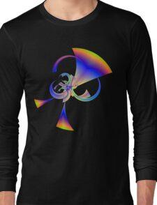 Running Rainbow Horns Long Sleeve T-Shirt